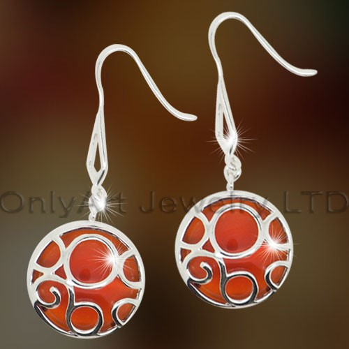 Sterling Silver Gemstone Earring OAE0002