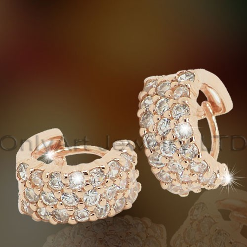 Fashion Sterling Silver Clip Earrings OAE0007