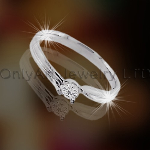 Newest 925 Sering Silver Jewelry With Zircon OAR0001