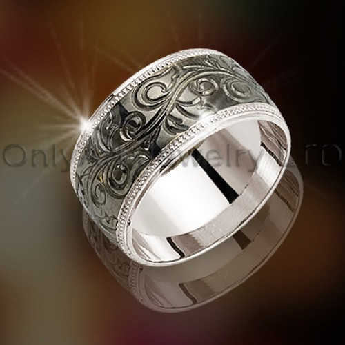 925 Silver Wedding Ring OAR0022