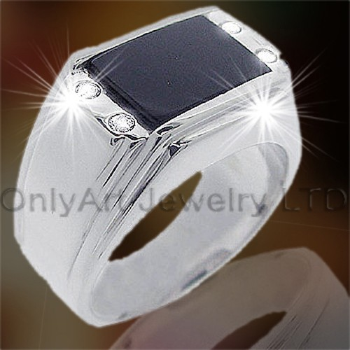 925 Silver Mens Ring OAR0026