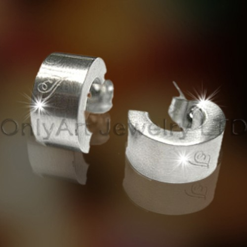 Stainless Steel Hoop Earring OATE0008