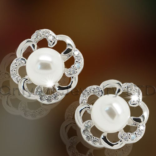 Fashion Sterling Silver Jewelry Earring for Lady OAE0006