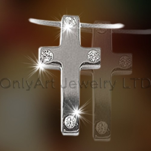Steel Cross Pendants OATP0101
