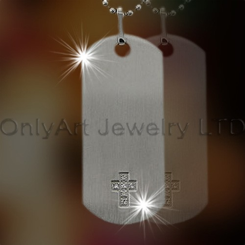 Stainless Steel Metal Dog Tag OATP0132