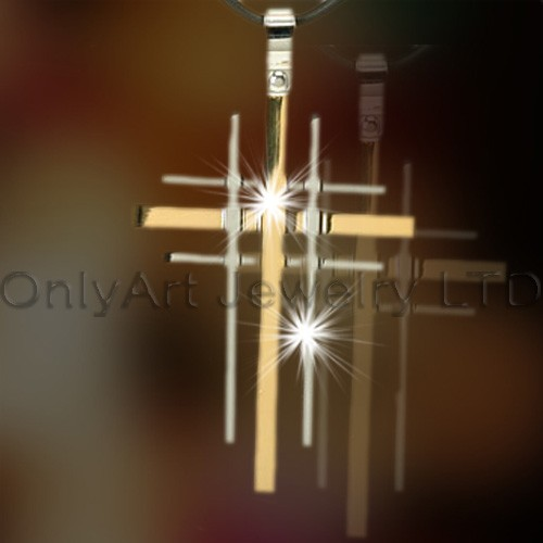 Stainless Steel Cross Pendants OATP0134
