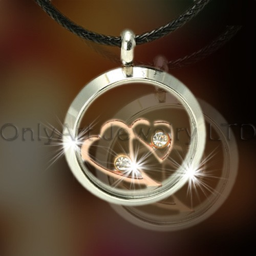 Fashionable Heart 316l Steel Pendants OATP0140