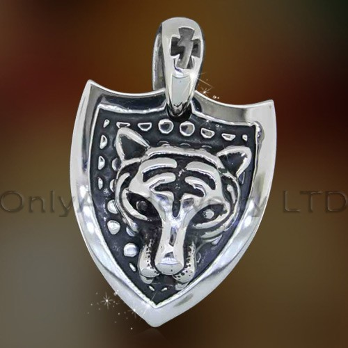 nickle free small order fashion designe tiger pendant paypal accepted