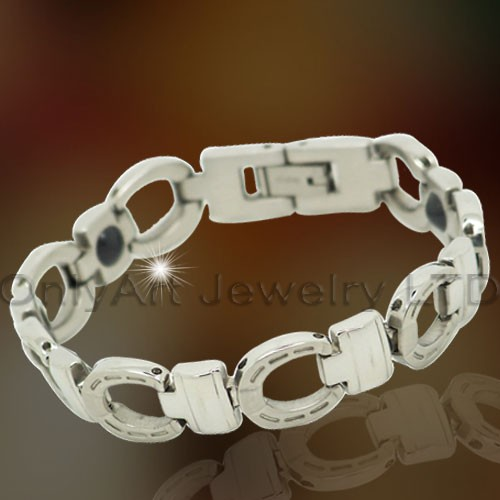 Healthy Stainless Steel Lady Bracelet Jewelry OATB0061