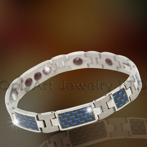 Magnetic Stainless Steel Bracelet OATB0062