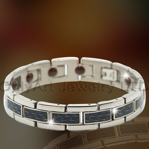 Leather Bracelet Stainless Steel OATB0072