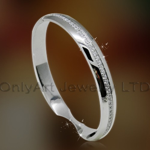 fashion latest bangle with zircon for women