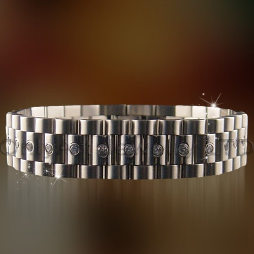 mens cheap stainless steel chain bracelets jewelry
