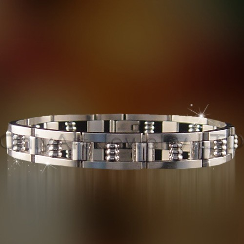 fashion hot classic stainless steel jewelry paypal accepted bracelet