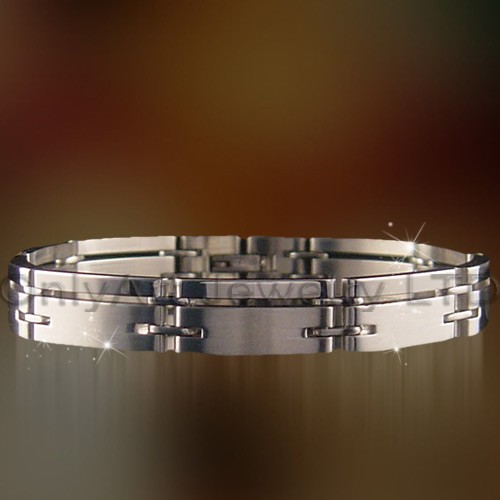 fabulous stainless steel or titanium bracelet wrist band