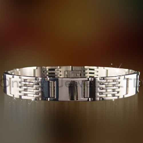 nickle free stainless steel metal bracelet
