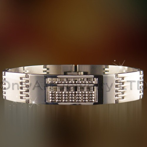 stylish fashion classic stainless steel jewelry mens bracelets paypal accepted bracelet
