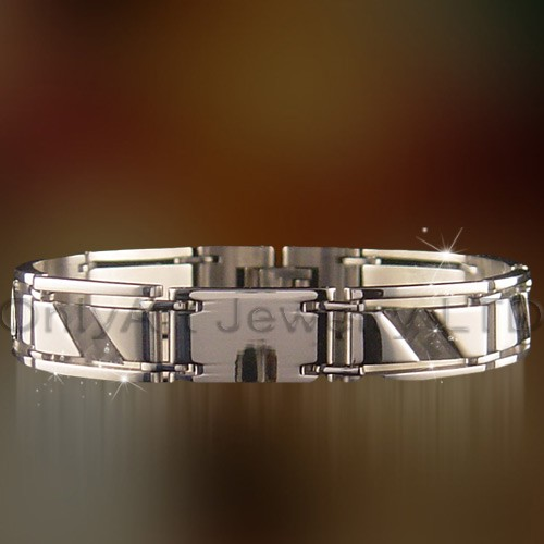 wholesale fashion men jewelry stainless steel bracelet