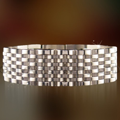 watch band bracelet fashion stainless steel jewelry