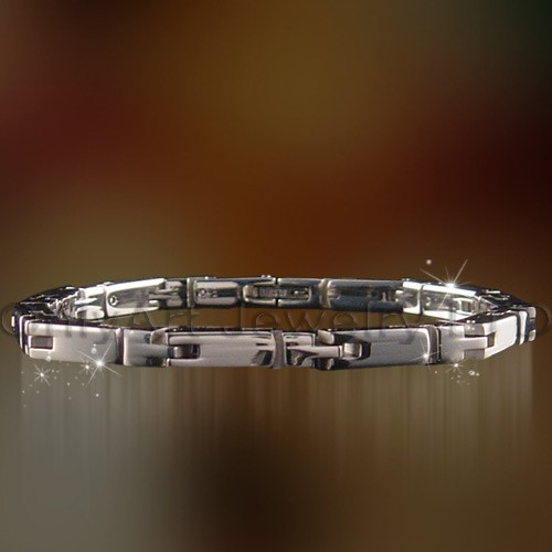 stunning fashion classic stainless steel bracelet jewelry for men paypal accepted bracelet