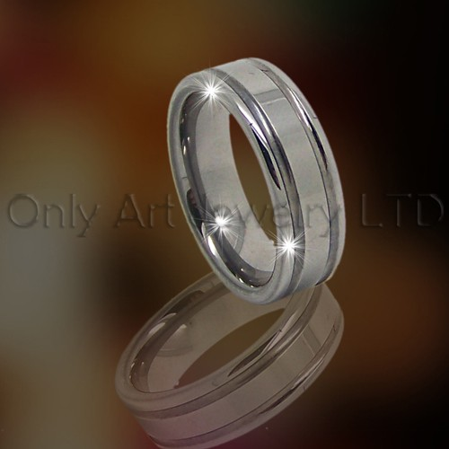 Mens TungstenRing OAGR0031