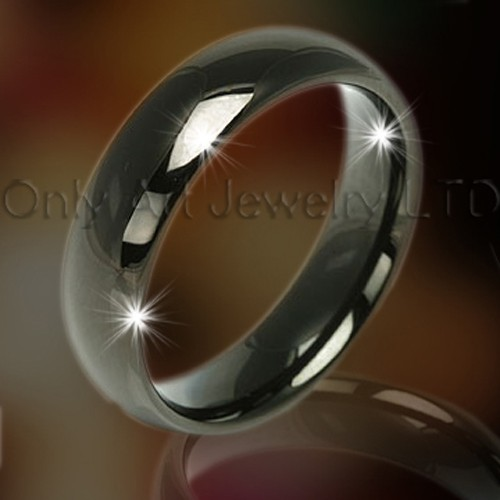 Black Tungsten Ring OAGR0041