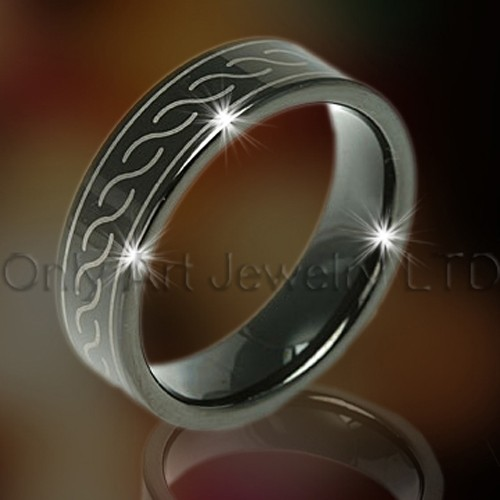 Tungsten Jewelry OAGR0045