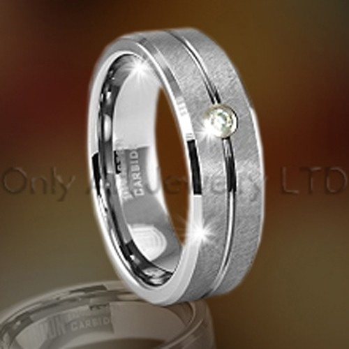 Tungsten Carbide Cubic Zirconia Jewelry OAGR0067