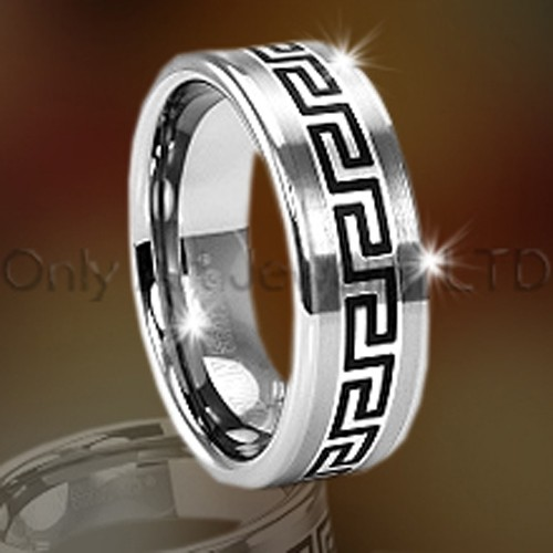 Celtic Tungsten Jewelry Ring OAGR0070