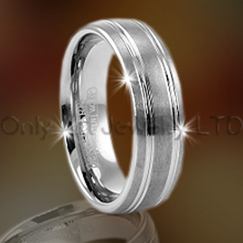 Tungsten Carbide Metal Ring For Lady OAGR0074