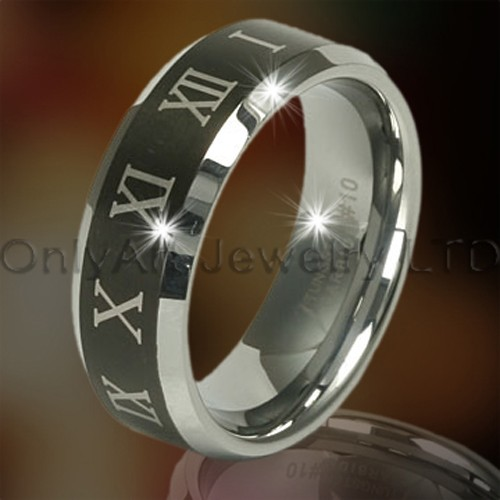 Tungsten Black Rings OAGR0100