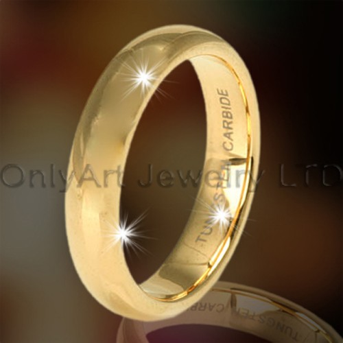 Tungsten Gold Rings OAGR0107