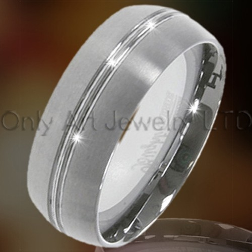 Cheap Mens Tungsten Rings OAGR0109