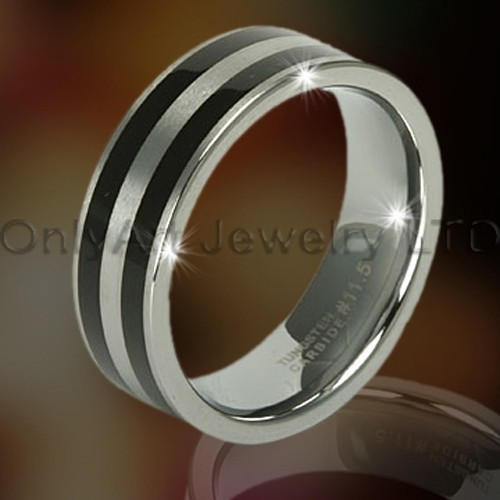 Anniversary Big Tungsten Rings OAGR0114