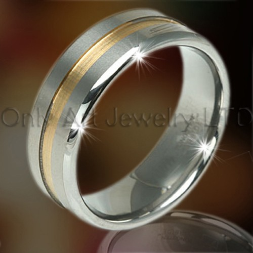 new design high fashion tungsten rings for men and women
