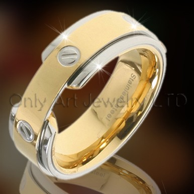 Fashion Golden Ring OATR0036