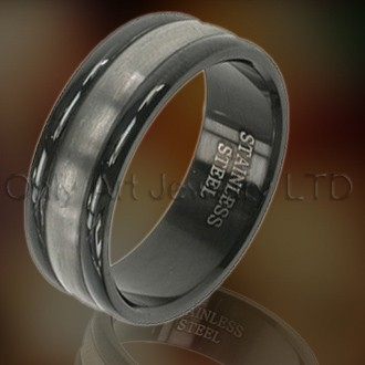 Steel Mens Rings OATR0045