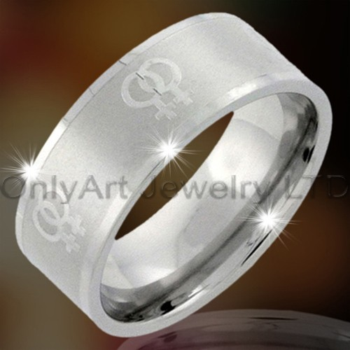 Steel Or Titanium Mens Jewellery Ring OATR0052