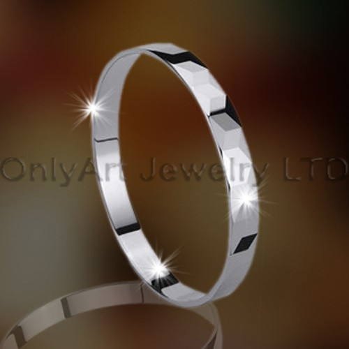 Tungsten Bangle OAGB0004