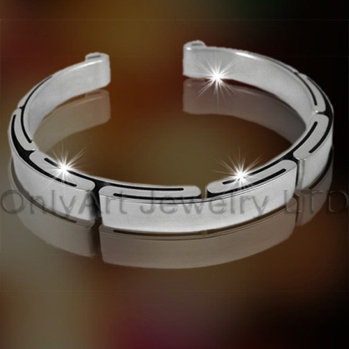 2011 Hot 316 Stainless Steel Cuff Bangle OATB0003