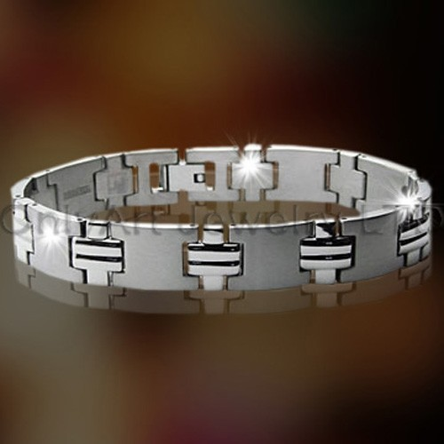 Steel Or Titanium Mens Jewelry OATB0035