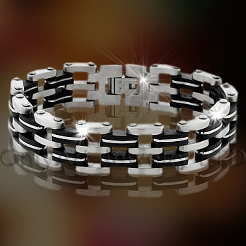 Stainless Steel Big Bracelet For Men OATB0045