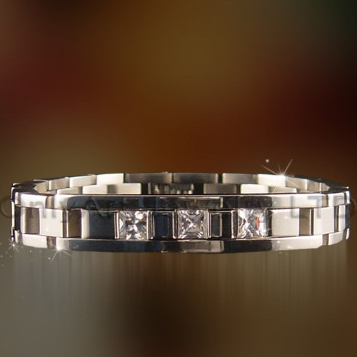 Fashioable 316l Stainless Steel Jewelry Bracelet For Men OATB0120