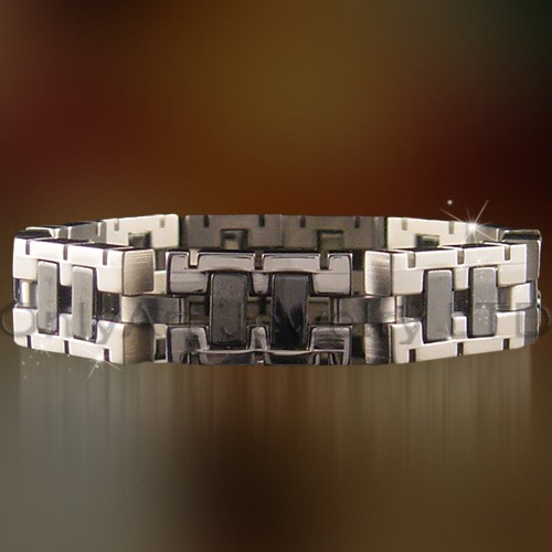 Fashion New High Quality Health Magnetic Bracelet In Stainless Steel OATB0132
