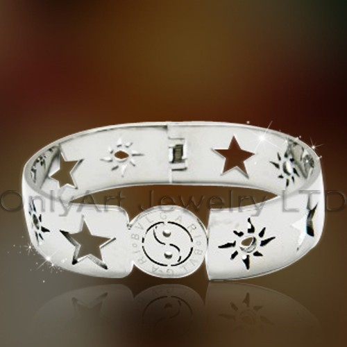 Women Stainless Steel Bangle Jewelry OATB0081