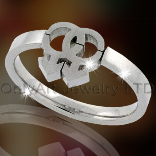 Titanium Fashion Jewellery Ring OATR0050