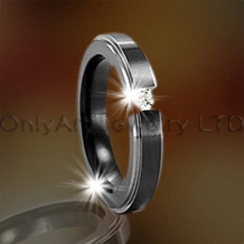 Steel Or Titanium CZ Jewelry OATR0091