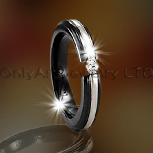 Stainless Steel Or Titanium Jewelry Rings OATR0092