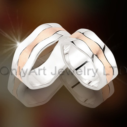 Steel Couple Rings OATR00108