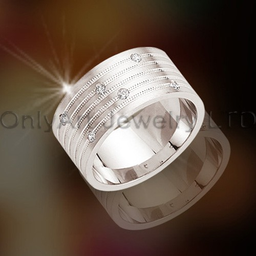 Titanium CZ Jewelry Rings OATR0122
